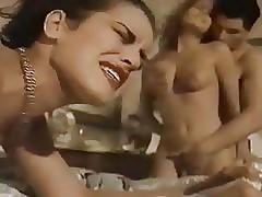 Viertal seksvideo's - vintage retro buis